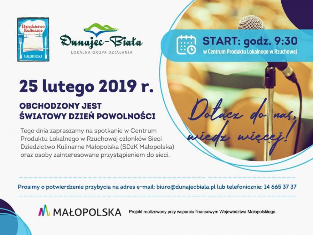 Wojewódzkie spotkanie członków Sieci Dziedzictwo Kulinarne Małopolskie