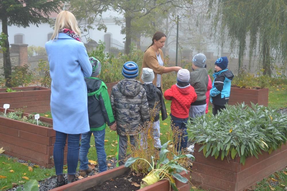 Wizyta przedszkolaków ze Szczepanowic w Centrum Produktu Lokalnego