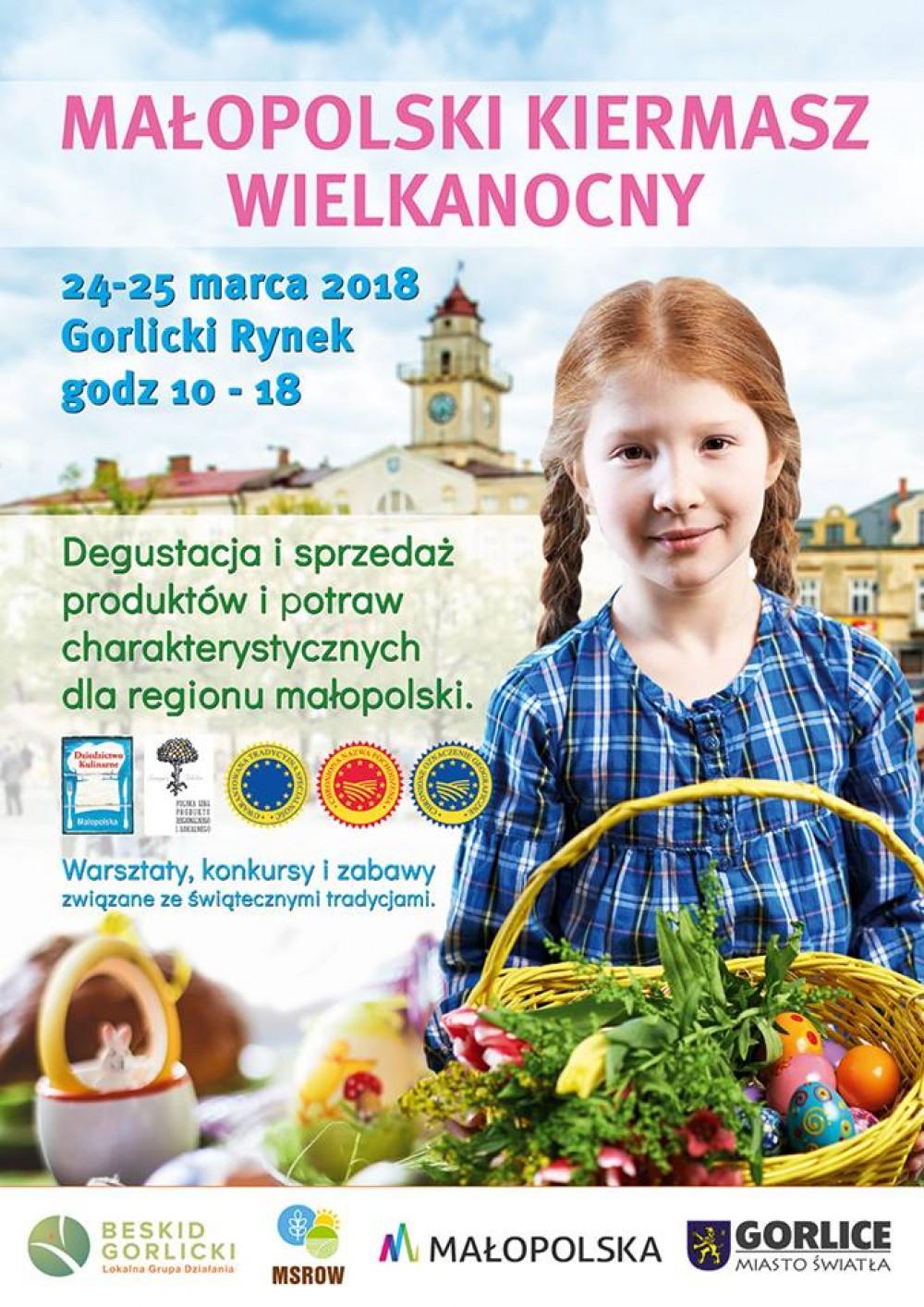 Stowarzyszenie GRUPA ODROLNIKA  zaprasza na Małopolski Kiermasz Wielkanocny do Gorlic
