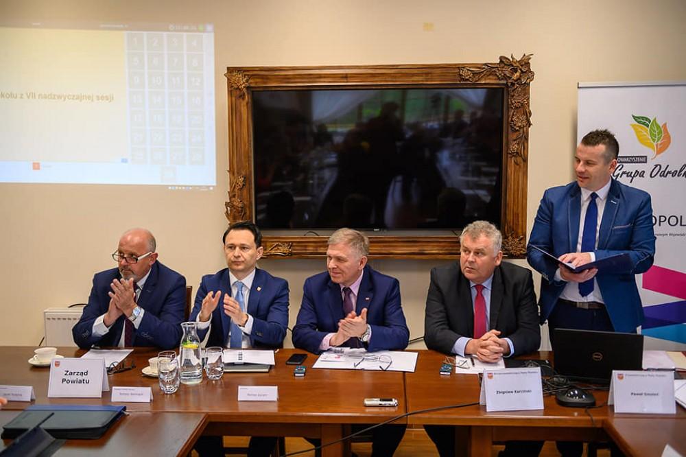 Wyjazdowa VIII Sesja Rady Powiatu Tarnowskiego z Centrum Produktu Lokalnego