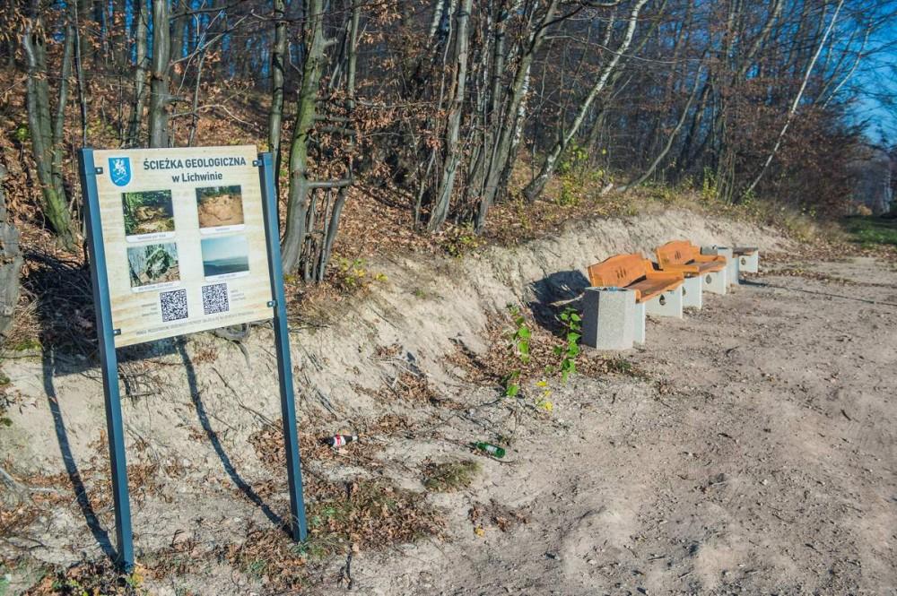 Urokliwa ścieżka geologiczna w Lichwinie