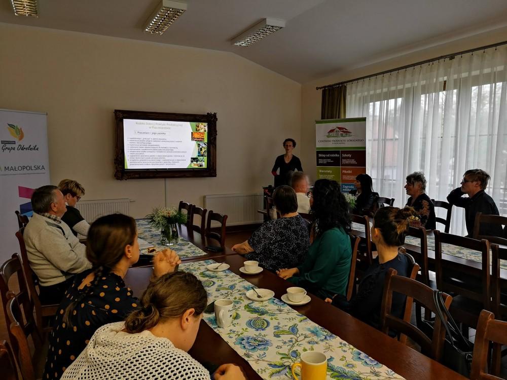 Konferencja pszczelarska w Centrum Produktu Lokalnego