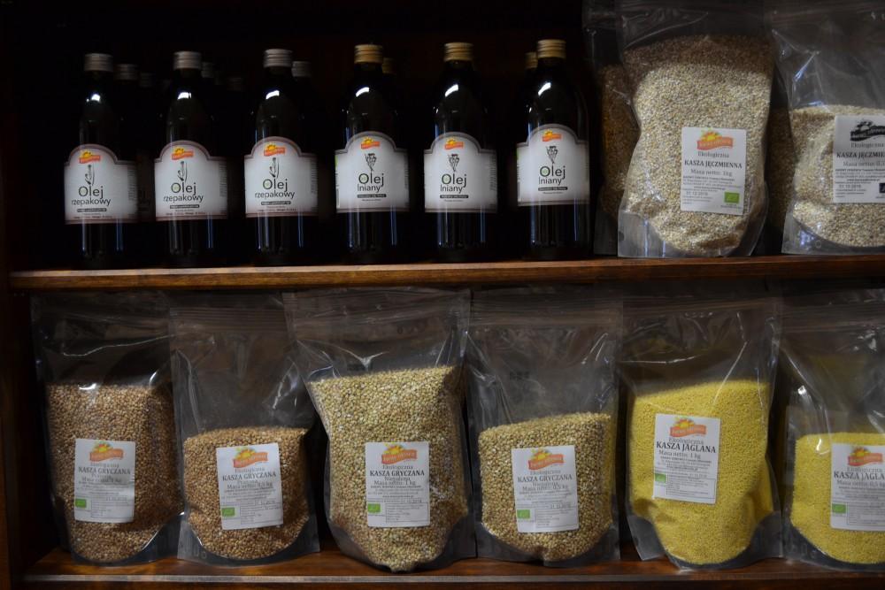 Nowe produkty w ofercie sklepiku działającego w Centrum Produktu Lokalnego
