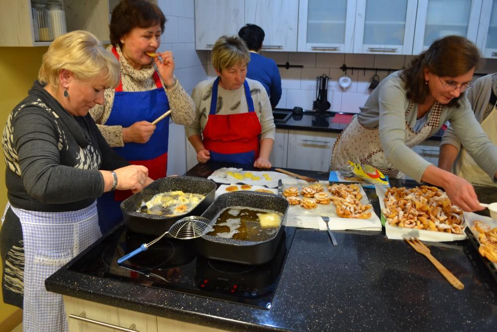 Cykl warsztatów kulinarnych w Centrum Produktu Lokalnego - relacja