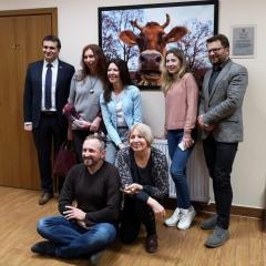 Przedstawiciele mediów z Ukrainy z wizytą w ramach Study Press w gm. Pleśna