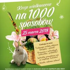 Rodzinne Warsztaty Wielkanocne  - Kosze Wielkanocne na 1000 sposobów