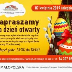 Dzień Otwarty w Centrum Produktu Lokalnego - 7 kwietnia 2019r.