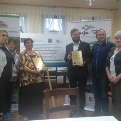 Wręczenie nagrody dla EkoLeaderów