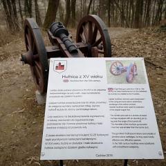 Wzgórze w Czchowie uzbrojone w atrakcje militarne