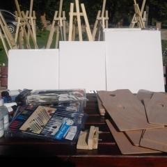 Warsztaty ze sztuki ludowej-malarstwo